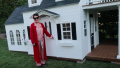 Kris Jenner Gifts Stormi Webster a Playhouse for Christmas