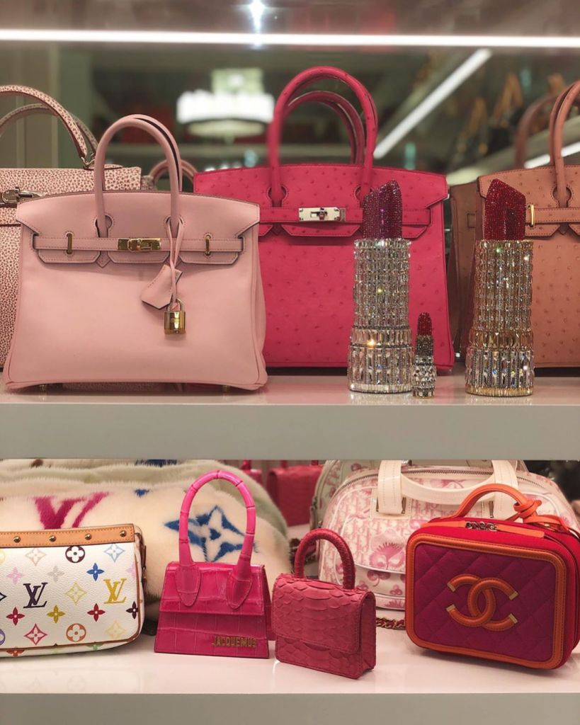 Kylie Jenner's Purse Collection