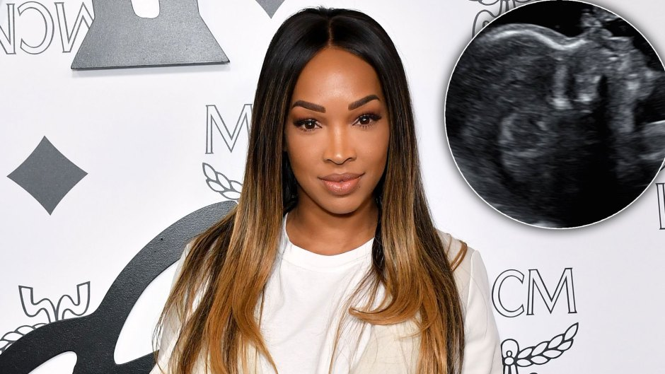Malika Haqq Shares Her First Sonogram and Gushes 'Auntie' Khloé Bought 'Everything' on Her Registry