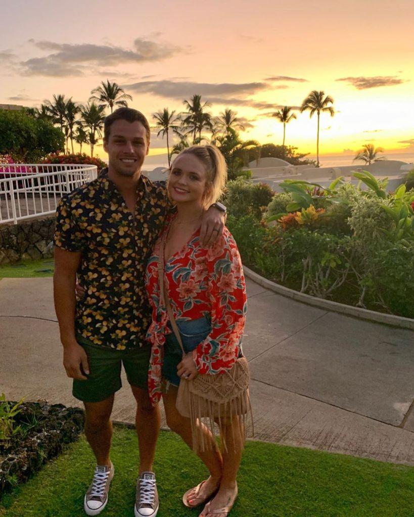 Miranda Lambert With Brendan McLoughlin With a Sunset