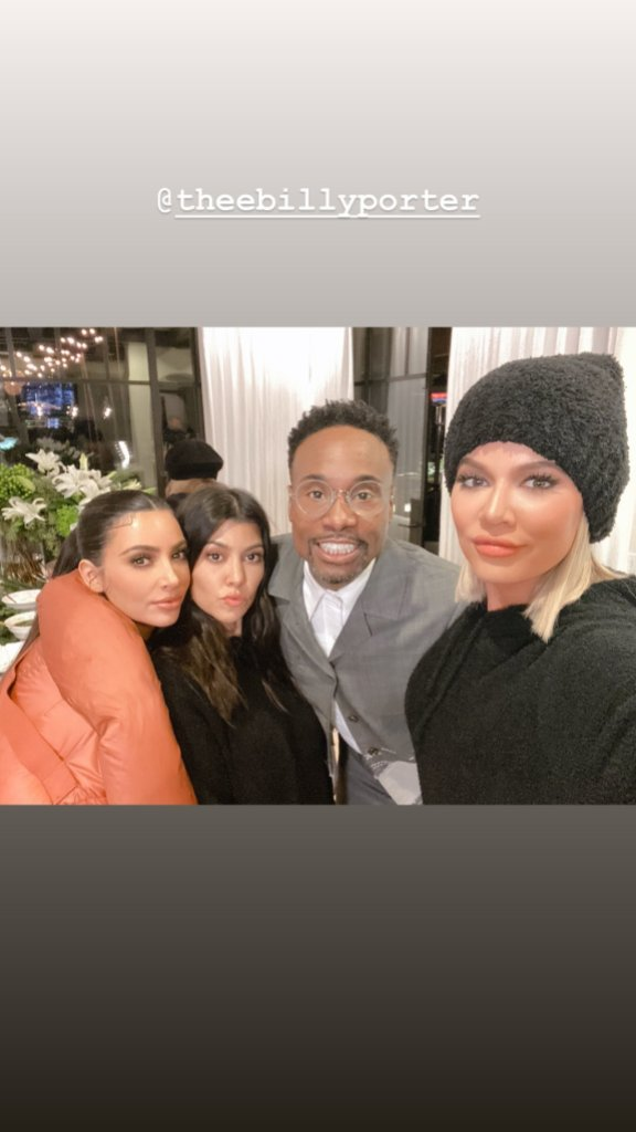 The Kardashians and Billy Porter