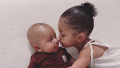 Psalm West and Stormi Webster