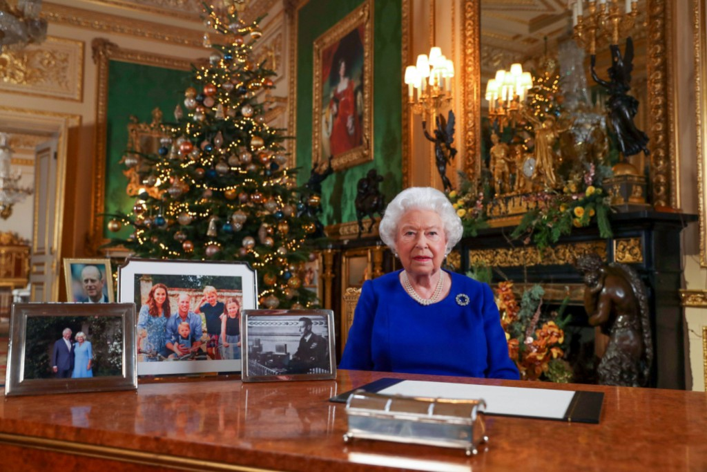 Queen Elizabeth Talking About Christmas