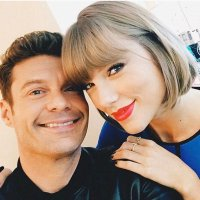 Ryan Seacrest and Taylor Swift