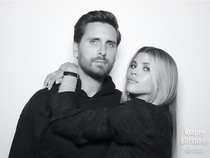 Sofia Richie Leaves Rare Comment on Boyfriend Scott Disick's Instagram Photo
