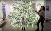 Kylie Jenner and Stormi Webster Show Christmas Decorations