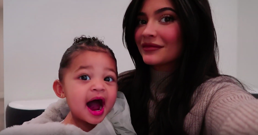 So Smart! Kylie Jenner's Daughter Stormi Webster Points Out Where California Is on a Map