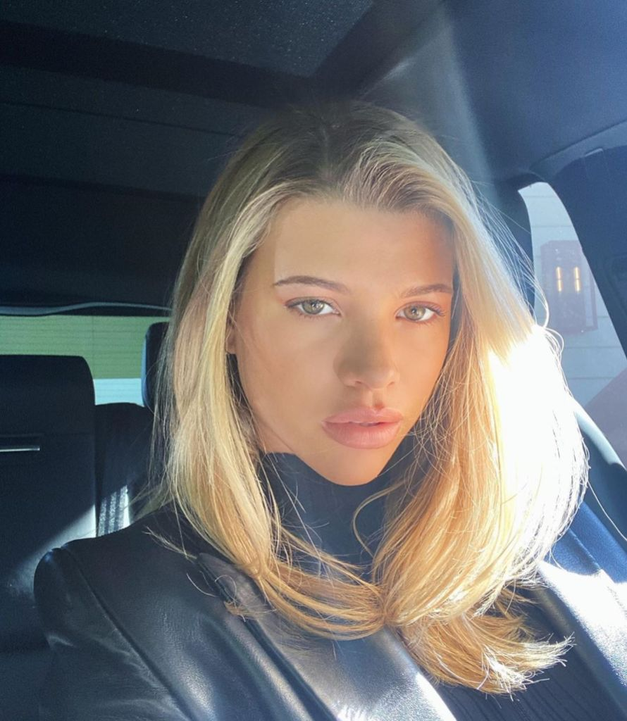 Sofia Richie Selfie