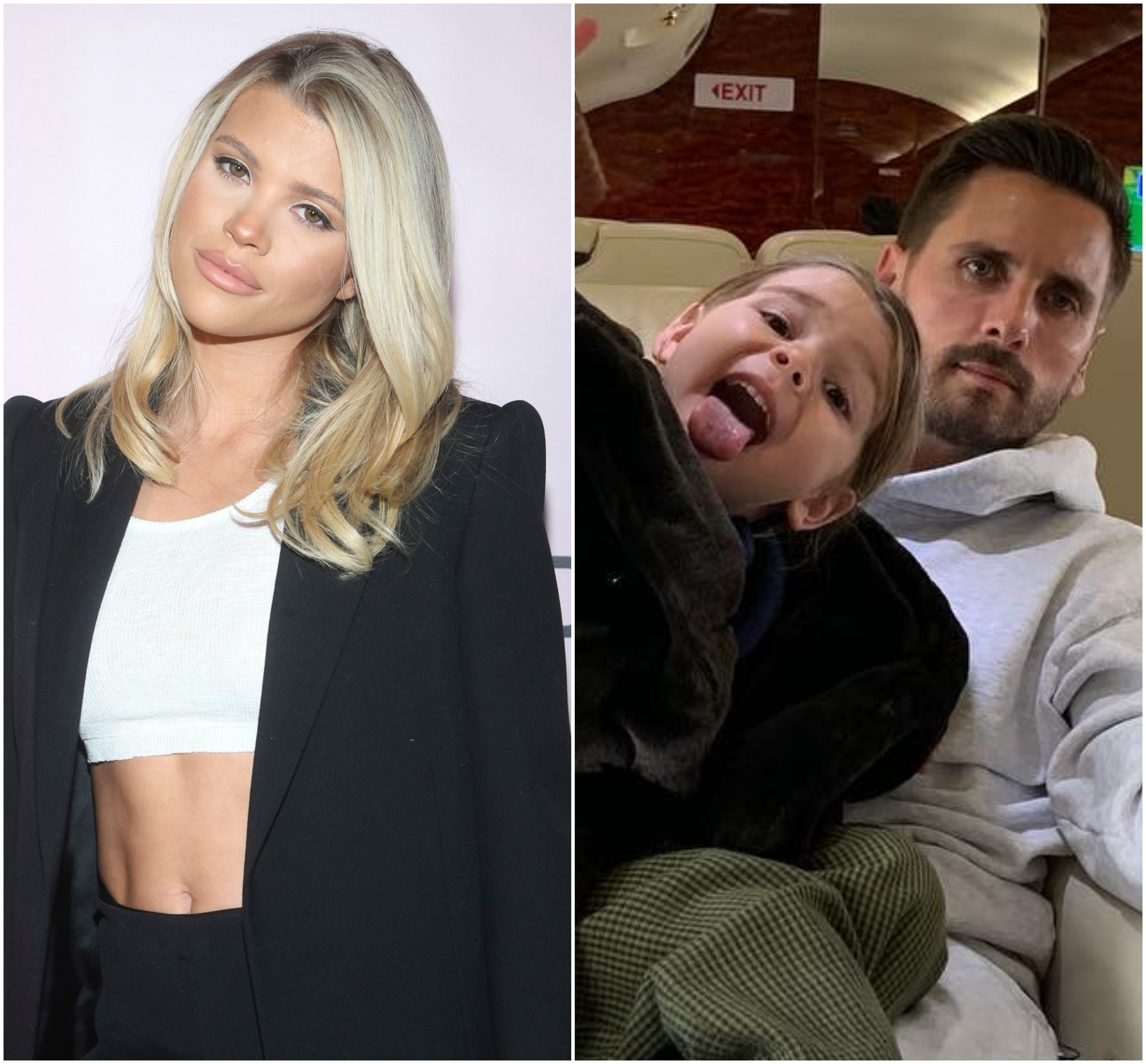 Was Scott Disick At Christmas Party 2020 Sofia Richie and Scott Disick Hang Out With Reign at Kardashian Party