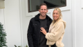 Tarek El Moussa and Heather Rae Young Christmas Photo