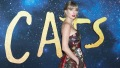 Taylor Swift in an Oscar de la Renta Gown at the NYC 'Cats' Premiere