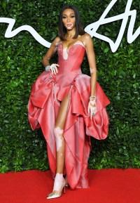 Winnie Harlow The Fashion Awards UK