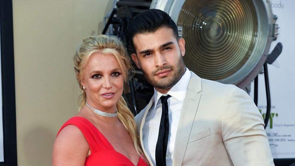 britney spears' boyfriend sam asghari defends her from haters
