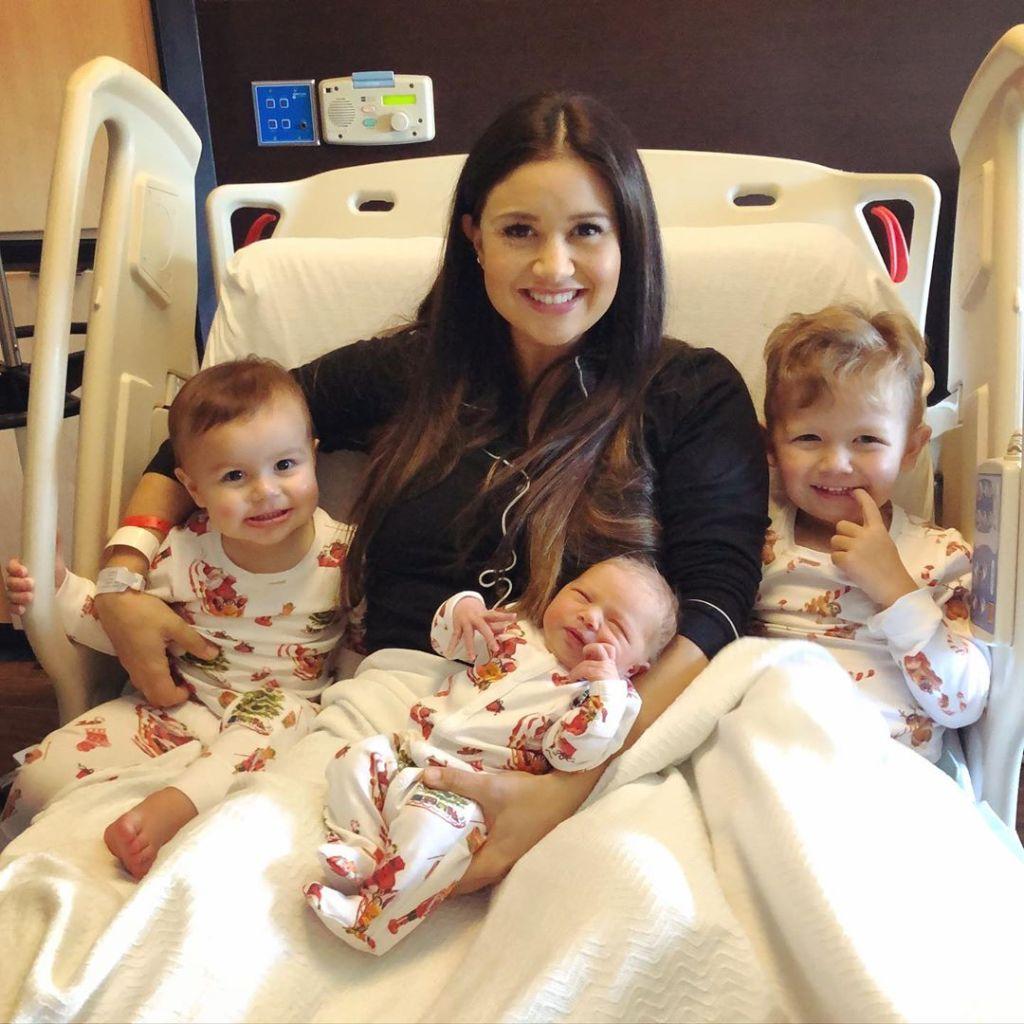 Catherine Giudici With Kids Mia Isaiah and Samuel