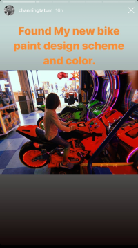 Channing Tatum and Everly Visit an Arcade