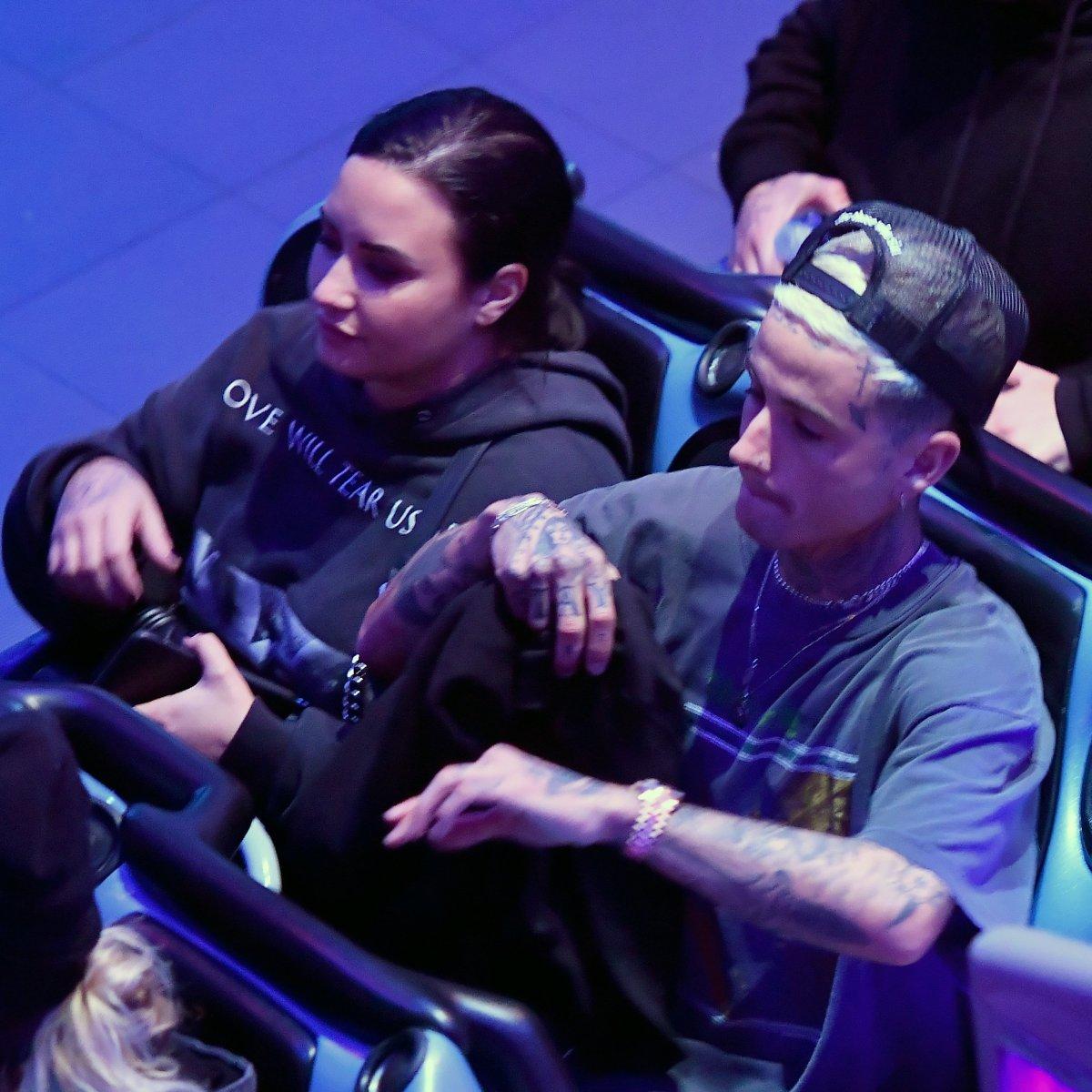 Demi Lovato and Boyfriend Austin Wilson Go on Cute Disneyland Date Night