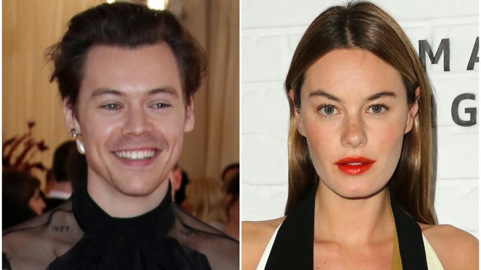 Harry Styles and Camille Rowe Cherry Song