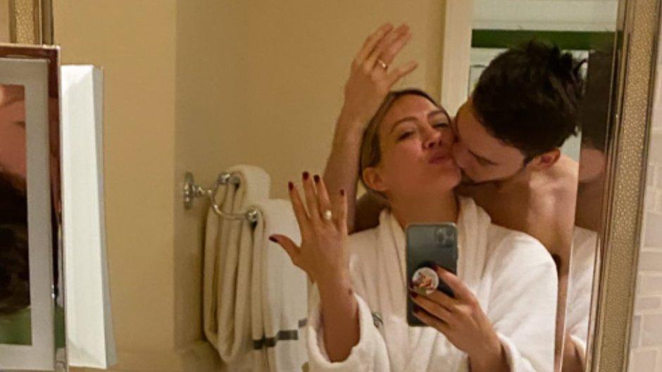 Hilary Duff Shows Off Wedding Ring With New Husband Matt Koma