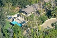 Jennifer Lopez and Alex Rodriguez Mansion Aerial Photos