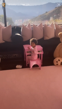 Khloe Kardashian and Baby True Enjoy Sunny Mommy-Daughter Day Out and Stop By Stormi's New Playhouse