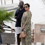 Kris Jenner and Corey Gamble Out and About in St. Barth's