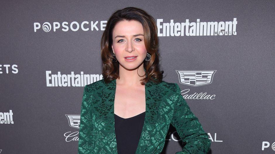 Caterina Scorsone Gives Birth