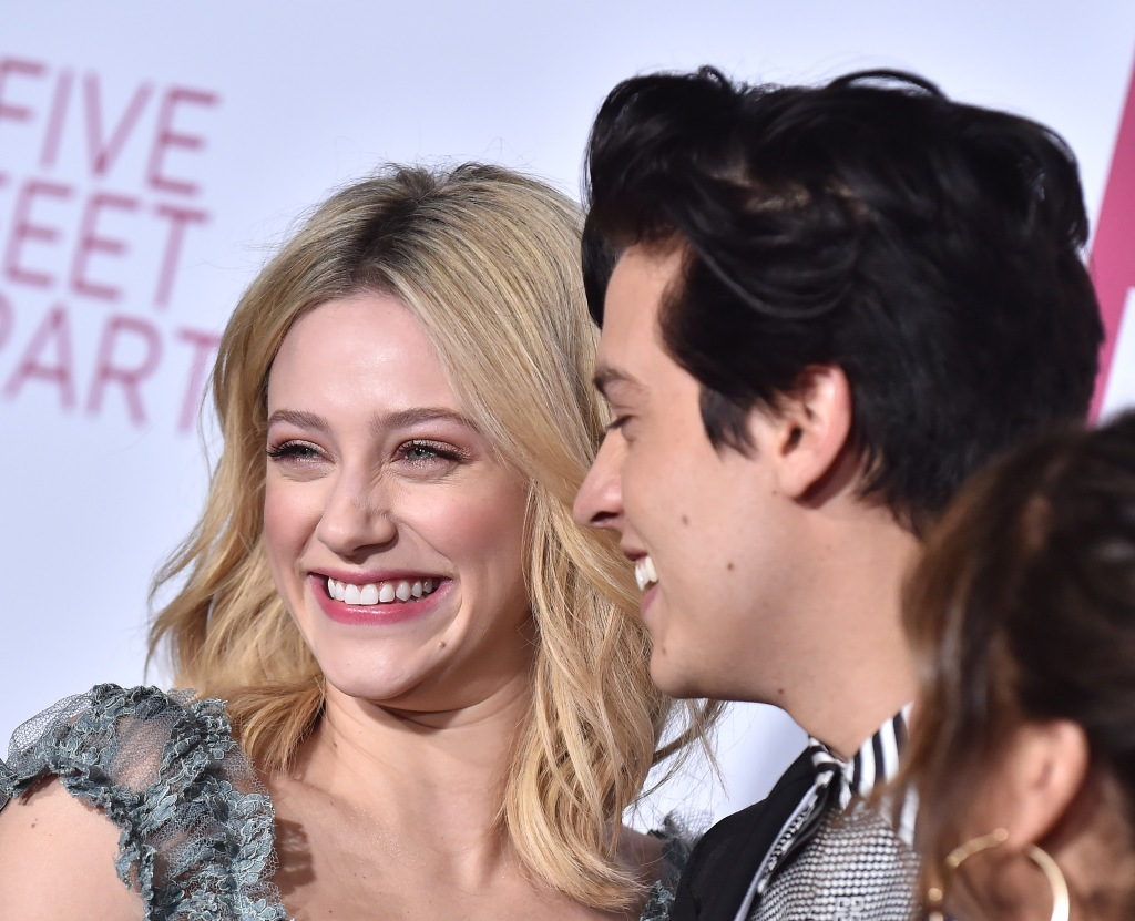Lili Reinhart Smiling With cole Sprouse