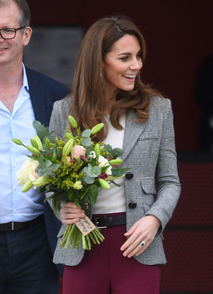 Kate Middleton Gets Oxygen Facial