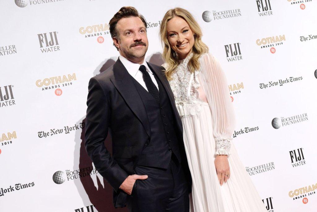 Olivia Wilde and Husband Jason Sudekeis IFP Gotham Awards 2019 - Red Carpet Arrivals, New York, USA - 02 Dec 2019