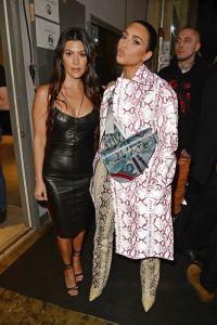 Kim and Kourtney Kardashian Dior Men's Show, Backstage, Pre-Fall 2020, Miami, USA - 03 Dec 2019