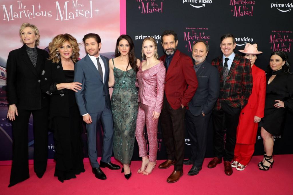 Marvelous Mrs Maisel Cast