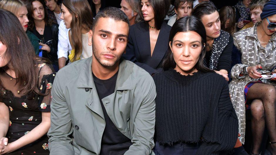 Kourtney Kardashian and Younes Bendjima Seemingly Reunite for Disneyland Date