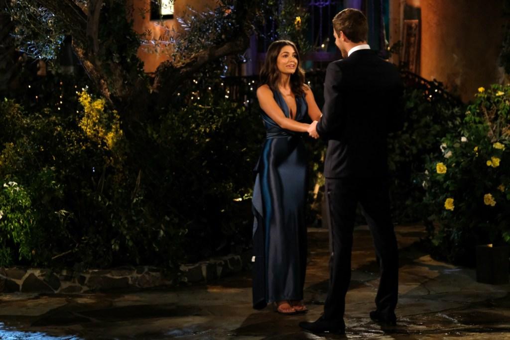 HANNAH ANN, PETER WEBER Night One The Bachelor
