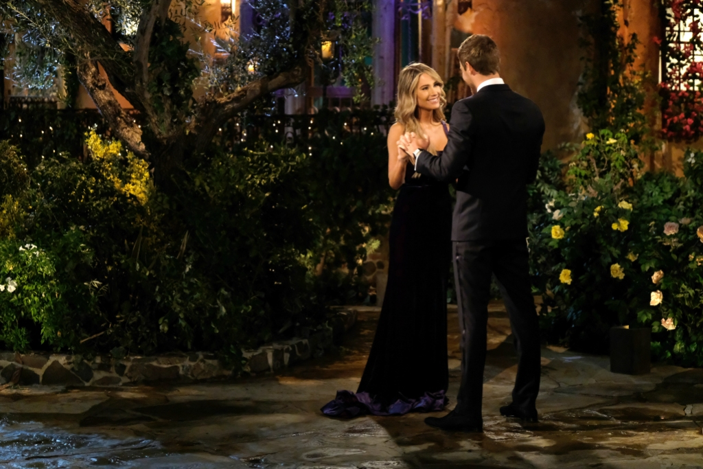 Victoria Paul With Peter Weber on the Bachelor