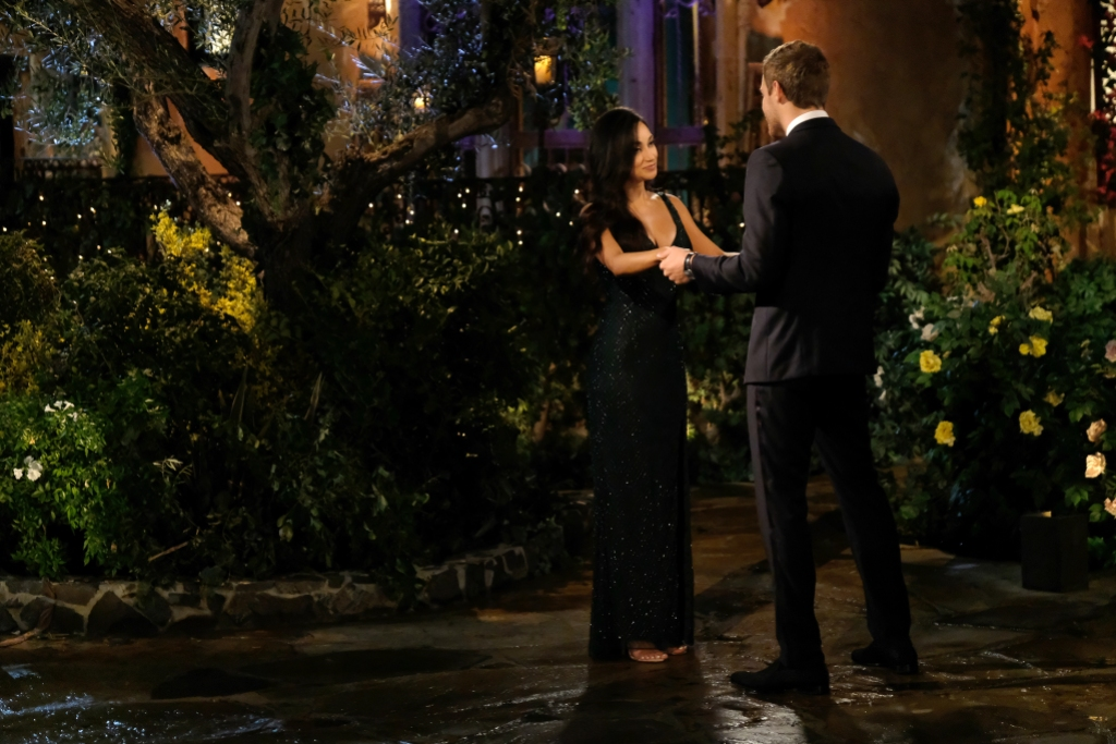 VICTORIA F., PETER WEBER on The Bachelor