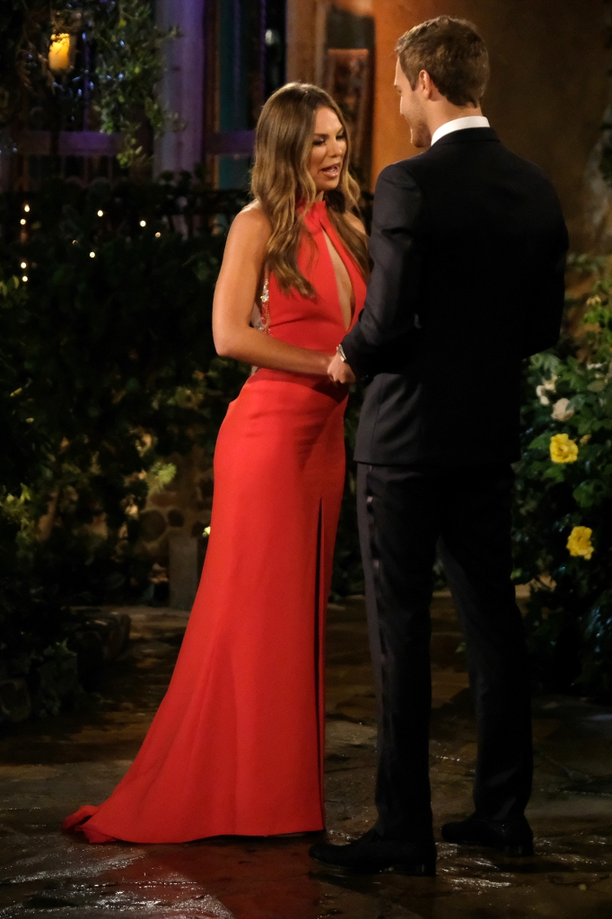 Hannah Brown Cries to Peter Weber on Bachelor