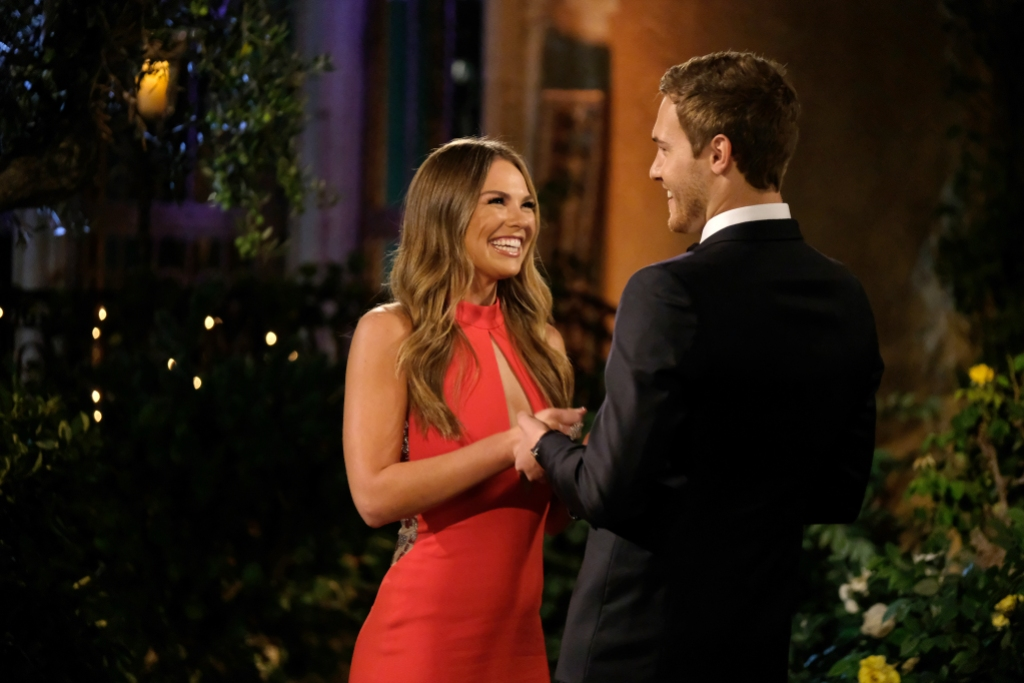 HANNAH BROWN, PETER WEBER on The Bachelor Together
