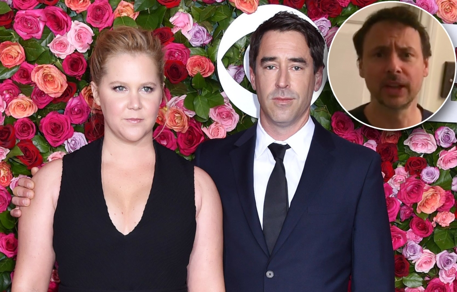 Um, What? Amy Schumer's Ex-Boyfriend Currently Lives With Her and Her Husband: 'She's Been Very Cool'