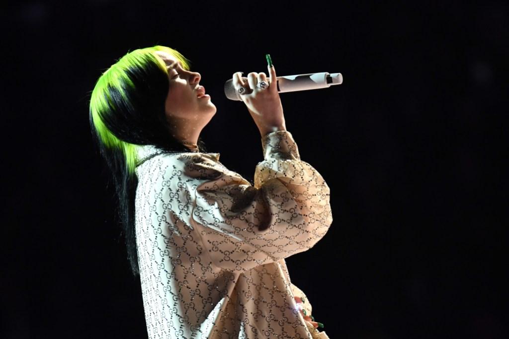 Billie Eilish Singing at 2020 Grammys