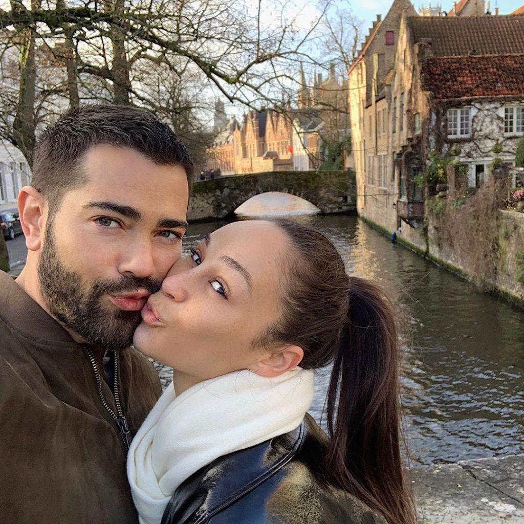 Cara Santana With Jesse Abroad