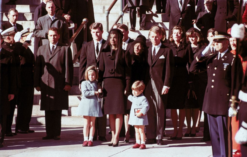 Caroline-Kennedy-Jacqueline-Kennedy-and-John-F-Kennedy-Jr-at-JFK-Funeral-There-Is-a-Litany-of-Recklessness-Bad-Behavior-Criminality-and-Bad-Luck-Behind-the-Kennedy-Curse