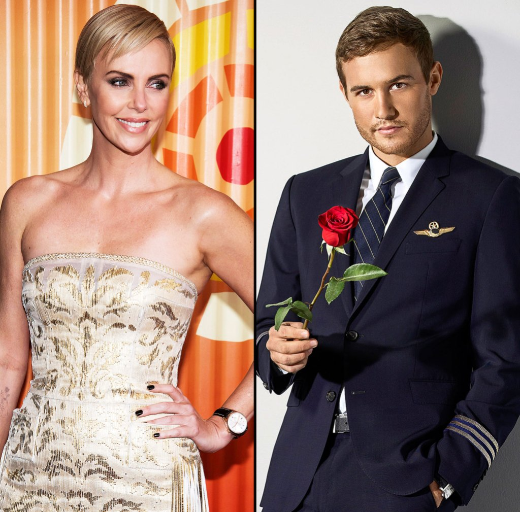 Charlize Theron Denies Bachelor Peter Weber Sliding into Her DMs