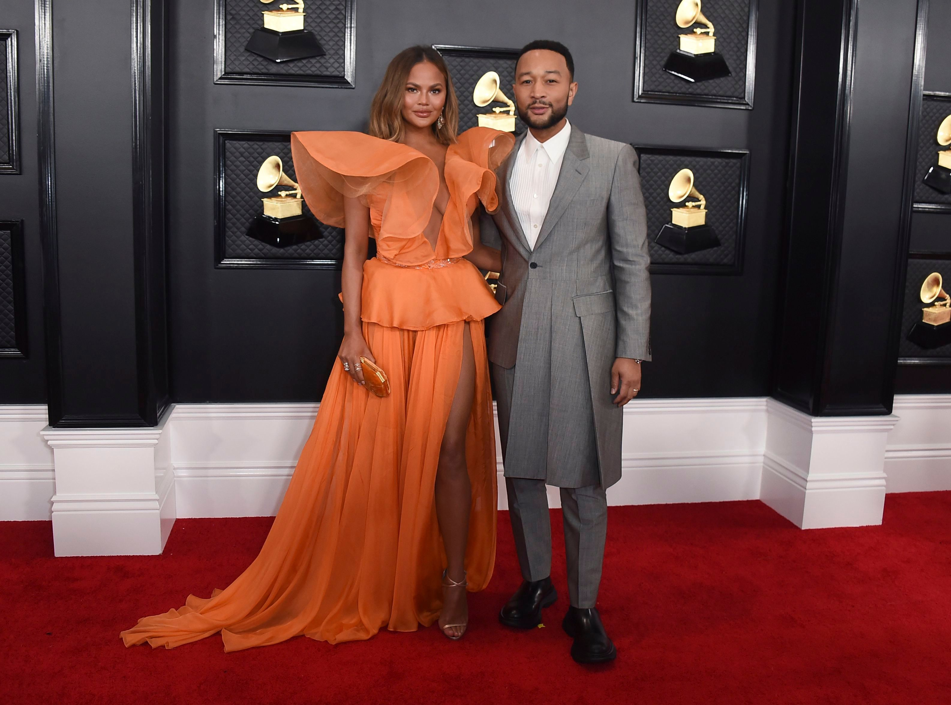 Chrissy Teigen and John Legend Have the Best Date Night Out at the 2020 Grammys
