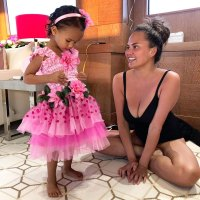 Chrissy Teigen and Luna Celebrity Mother-Daughter Duos Are Totally Twinning