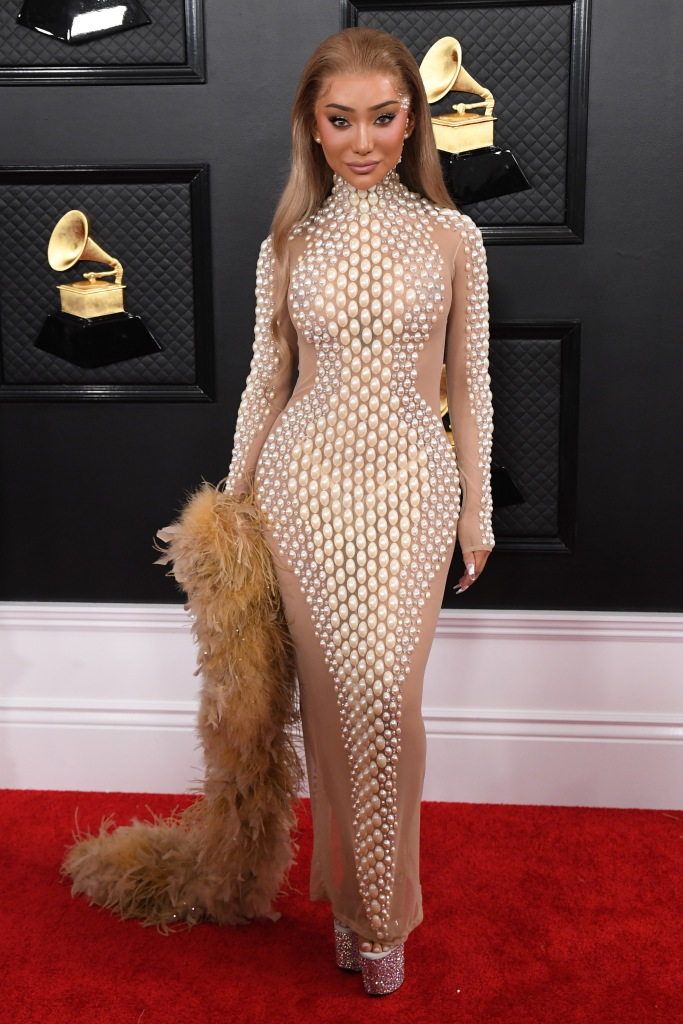 Nikita Dragun 2020 Grammy Awards