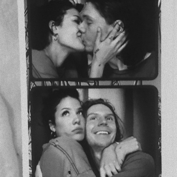 Halsey and Evan Peters