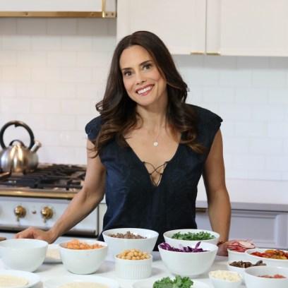 Keri Glassman Registered Dietitian With Undeniably Dairy Salad