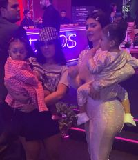 Hennessy Carolina at StormiWorld With Kulture