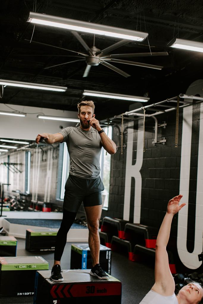 Shawn Booth Workout class Nashville