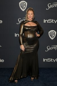 Iskra Lawrence at the InStyle and Warner Bros Golden Globes After Party